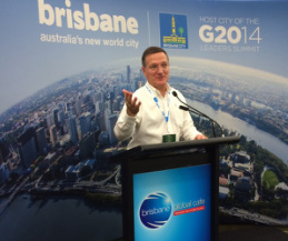 Brian Grim G20 Brisbane