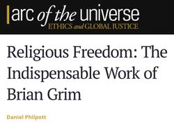 Brian Grim Notre Dame University Dan Philpott