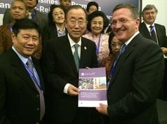 Brian Grim UN Secretary General Ban Ki-moon