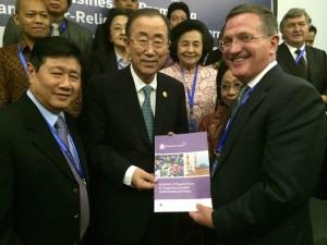 Ban Ki-moon with BJG