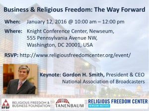 Business & Religious Freedom - The Way Forward
