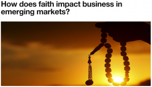Faith & Emerging Markets