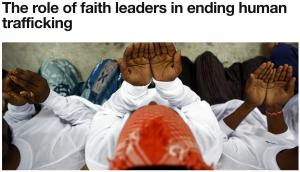Faith & Ending Trafficking