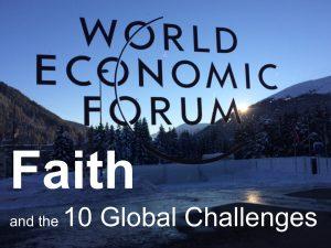 Faith & Global Challenges