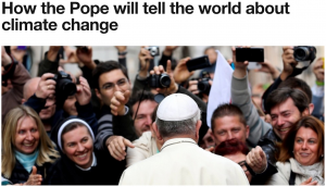 Going Viral - The Pope & Climate Change