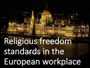 RelFree Standards Euro