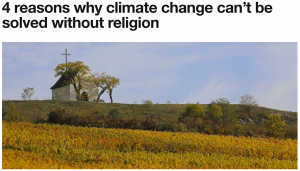 Religion & Climate Change
