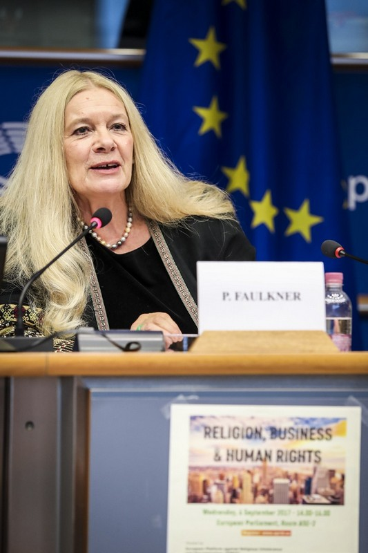 Penelope Faulkner, member of EPRID's Board of Coordinators and Vice-President of VCHR - © European Union 2017